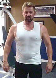 Bruce Rice Fitness Testimonial Before Photo