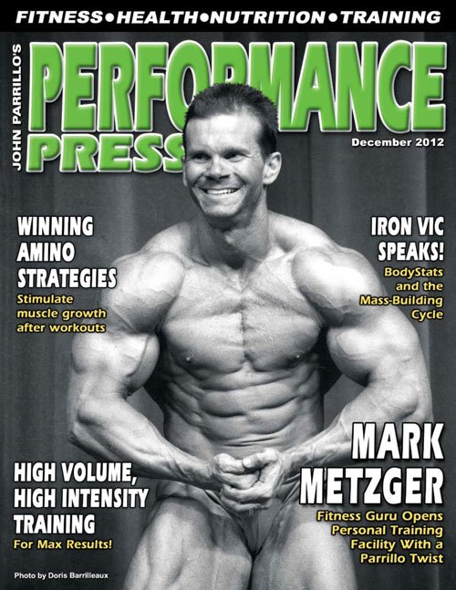 Performance Press Magazine Cover Featuring Mark Metzger